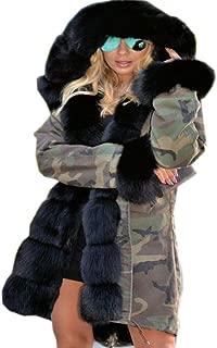 Women Thicken Warm Winter Coat Hood Parka Overcoat Long Jacket Outwear