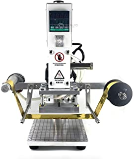 Hot Foil Stamping Machine Automatic Reeling 10x13cm 110v Tipper Stamper Bronzing Card Foil Logo Embossing 3.9