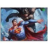 Puzzle Set 1000 Batman y Superman Puzzle Game Toy Game Relief Stress 26x38