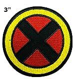 Marvel Comics X-Men Patch–7,6cm–Superhero Thème X Logo Série...