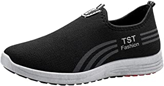 NUWFOR Men's Fashion Leisure Climbing Boot Running Sport Athletic Shoes Sneakers(Black,8 M US Length:9.8
