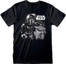 Star Wars: The Mandalorian Mando and The Child Photo Camiseta para Hombre| mercancía Oficial