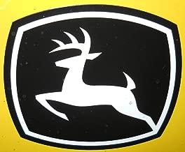 John Deere Leaping Deere Decal for 42