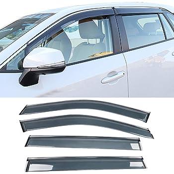For Toyota RAV4 2019~2020 4Pcs Window Visor Vent Sun Shade Rain Guard Deflectors