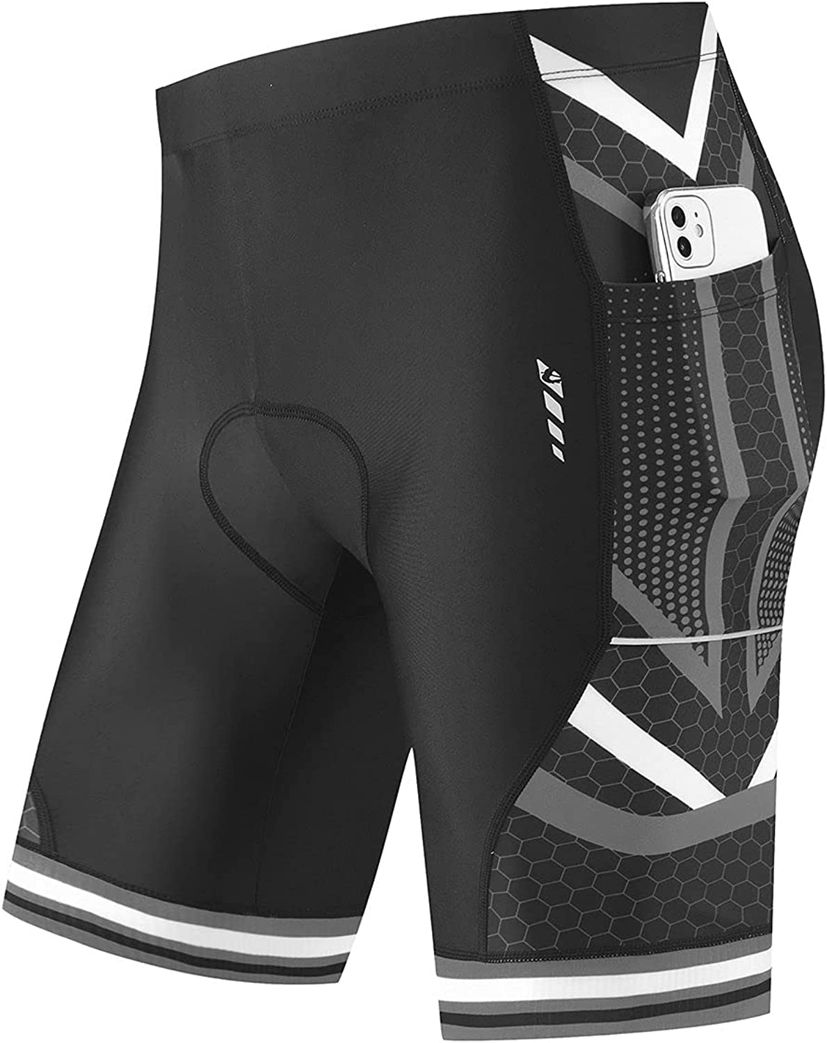 BALEAF Men's Bike Shorts 4D Pockets Bicycle Max 76% OFF Ridin Padded Cycling At the price of surprise