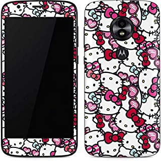 Skinit Decal Phone Skin for Moto E5 Play - Officially Licensed Sanrio Hello Kitty Multiple Bows Design