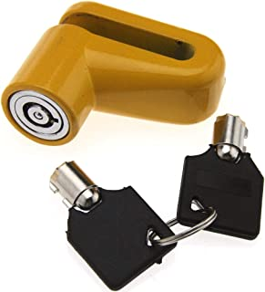 Security Anti Thief Motorbike Motorcycle Scooter Disc Lock with 2 Keys