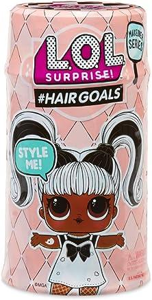 Giochi Preziosi LOL Surprise Hairgoals, LOL con Capelli Pettinabili, 15 Livelli, Modelli Assortiti