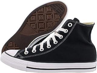 Converse Chuck Taylor All Star High Top Sneaker, Black, 12 Women/10 Men