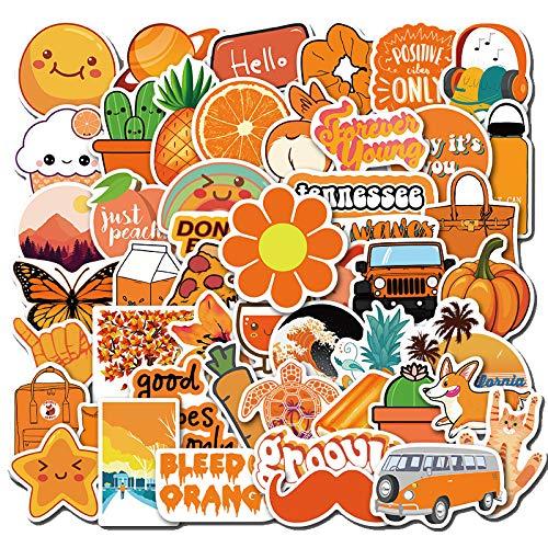 Kleine frische Graffiti-Aufkleber, Koffer, Rollkoffer, Wasserglas-Skateboard, wasserdichte Aufkleber, 50 Blatt