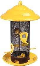 Stokes Select Sedona Screen Bird Feeder, 12-1/2 Inches, 4 Ports, Yellow