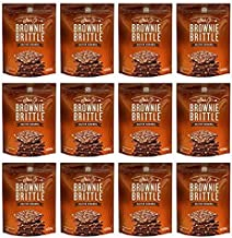 Brownie Brittle, 5 Ounce, Salted Caramel (120 calories per ounce), 5 Ounce (Pack of 12)