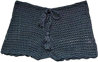 Shorts de baño de Crochet para Mujerhttps://amzn.to/2OnedcS