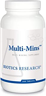 Biotics Research Multi Mins Multi Mineral Complex, Full Spectrum Mineral Complex, Balanced Source of Mineral Chelates and ...