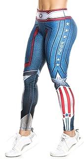 Drakon  Fiber Superhero (Many Styles) Leggings Yoga Pants Compression Tights