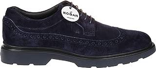 HOGAN Luxury Fashion Mens HXM3930BX60LDUU801 Blue Lace-Up Shoes | Fall Winter 19