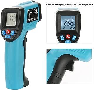 Zunate Termometro Infrarrojos Laser, Termómetro Digital de Infrarrojos sin Contacto GM550E Pantalla LCD -50 a 550