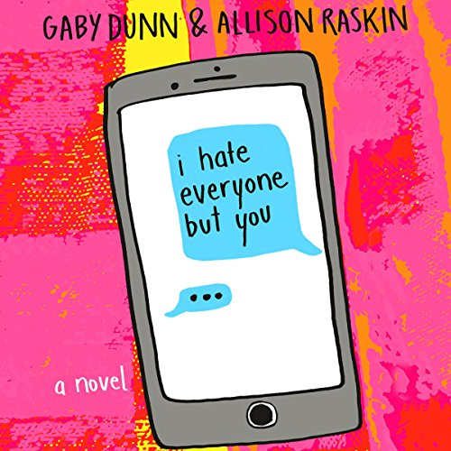 I Hate Everyone But You audiobook cover art