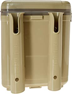 ENGEL 19 Quart Leak-Proof air-Tight drybox/Cooler with Rod Holders (UC19T-RH)