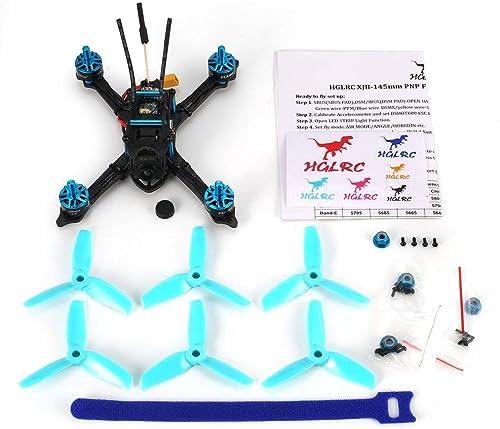 excelentes precios CHOULI Hglrc Xjb-145Mm FPV Racing Drone Omnibusf4 Omnibusf4 Omnibusf4 28A Blheli_S Esc Switchable Vtx azul  Felices compras