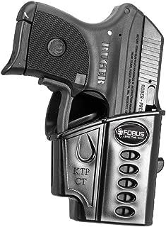 Fobus Ruger LCP KelTec P3At Evolution Belt Holster, Black, Right