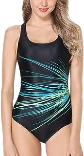 Women's Boyleg Sports Swimwear One Piece Swimsuits Athletic Boy Short Swimsuit