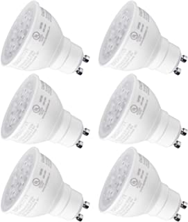 TORCHSTAR MR16 GU10 LED Light Bulb, Dimmable, 7.5W (75W Equivalent), Energy Star, UL-Listed, 2700K Soft White 40° Beam Angle, 500Lm, Track Lighting, Recessed Light, 3 Years Warranty, Pack of 6