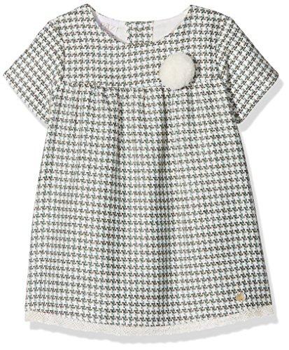 PAZ Rodriguez 004-95021 Vestido, Multicolor (Tierra), Recién Nacido (Tamaño del Fabricante:6M) para Bebés