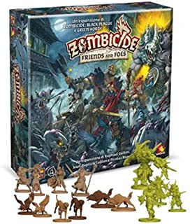 Asmodee Italia Zombicide Green Horde-Friends and Foes, Juego de Mesa, Color 8439
