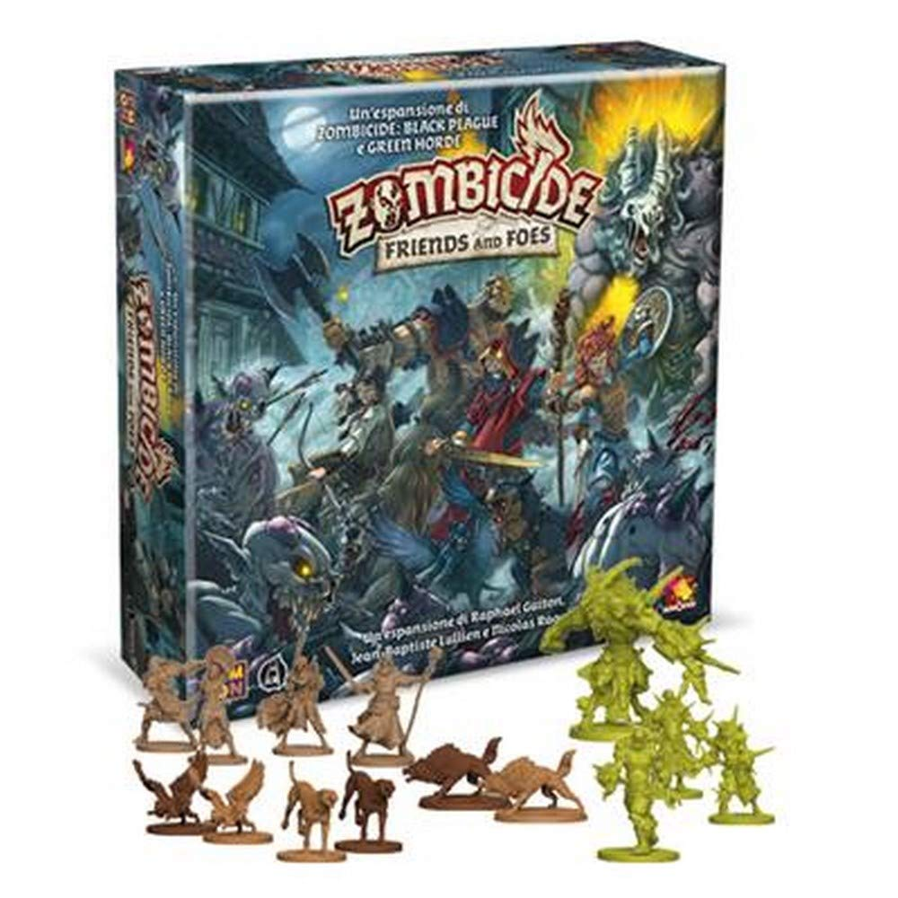 Asmodee- Zombicide Green Horde-Friends and Foes, Juego de Mesa, Color 8439: Amazon.es: Juguetes y juegos