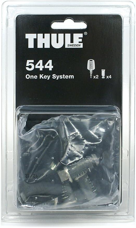 Thule 544000 One Key System Zubehör 4 Zylinder Sport Freizeit