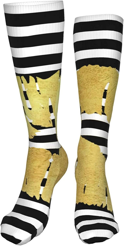 NELife Compression Socks for Women's - Stripe Lip Circulation So
