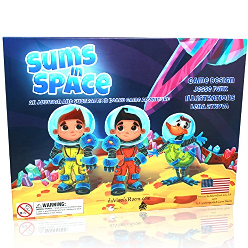 Sums in Space - an Addition & Subtraction Math Game for Kids