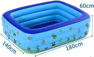 Piscina hinchable para el hogar- 70 x 55 x 23 pulgadas engrosada- piscina plegable facil de configurar
