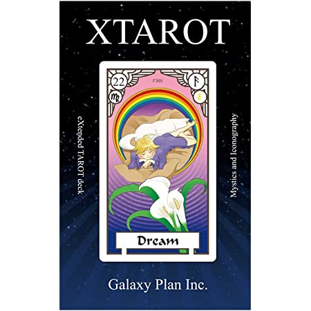 XTAROT(エクスタロット) DX版 占い用 25枚組 説明書付き