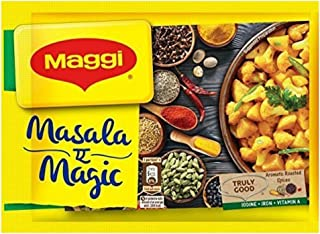 Maggi Masala a Magic Taste Enhancer Taste of Indian Food Seasonings 6Gm (Pack Of 20) Indian Snacks