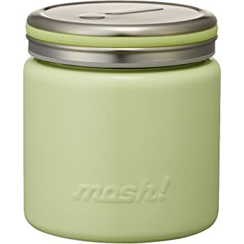 フードコンテナ 真空断熱 フードポット 0.3L グリーン mosh! (モッシュ!) DMFP300GR