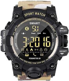 XNNDD Reloj Deportivo Inteligente Hombres y Mujeres Batería de Larga duración Reloj recordatorio Inteligente Alarma Vibración Reloj Fitness