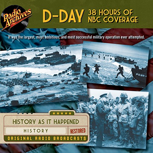 D-Day 38 Hours of NBC Coverage audiobook cover art