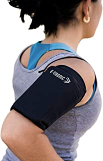 Phone Armband Sleeve: Best Running Sports Arm Band Strap Holder Pouch Case for Exercise Workout Fits iPhone 5S SE 6 6S 7 8...