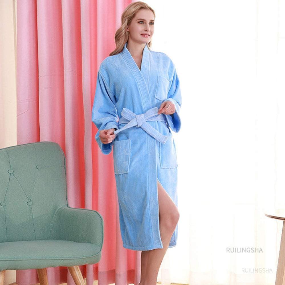 SDCVRE latest Winter Bathrobe 5 Star Hotel Men 100% Cotton online shopping Kimono Towel