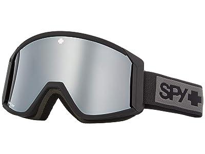 Spy Optic Raider (Matte Black Happy Bronze w/ Silver Spectra+Persimmon) Snow Goggles