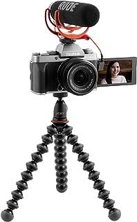 Fujifilm X-T200 - Vlogger Kit con Objetivo XC15-45/3.5-5.6 PZ micrófono Rode VideoMic Go trípode Joby GorillaPod 1K y Tarjeta Fujifilm SDHC 16GB UHS-1 Color Antracita