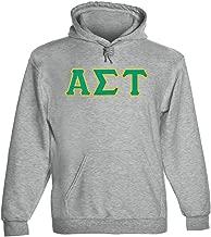 Alpha Sigma Tau Twill Letter Hoody