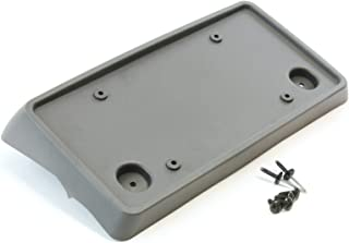 Red Hound Auto Front License Plate Bumper Mounting Gray Bracket Compatible with Chevrolet GMC 2007-2019 Tahoe/Suburban/Yukon/Yukon XL, Includes Screws and Mounting Hardware Z71 Off Road Only