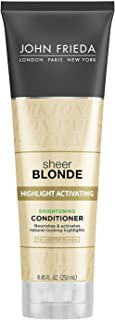 John Frieda Sheer Blonde Glistering Perfect Conditioner Platinum To Champagne - 8.45 Oz ( Pack of 3 )