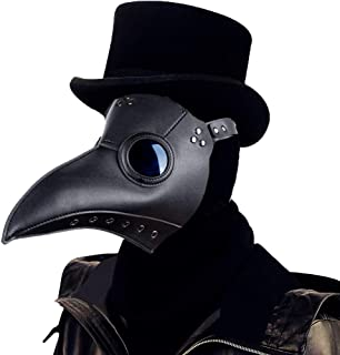 Raxwalker - Máscara de peste de peste para disfraz de
