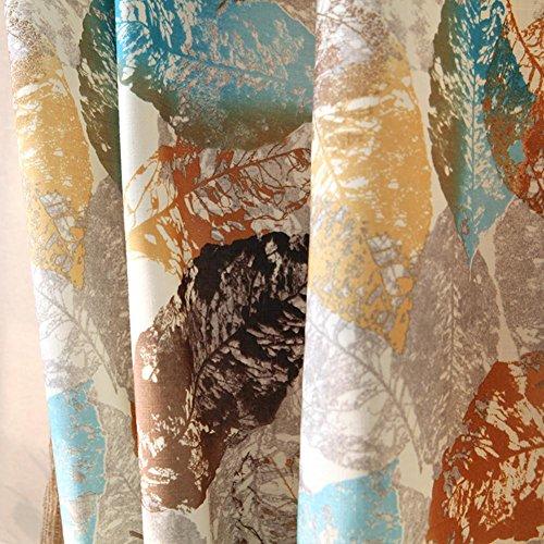 Raambewerkingen Gordijnen & Drapes Verduisteringsgordijnen Polyester Stof 3D-printen voor Slaapkamer Raamdecoratie Woonkamer Balkon Afgewerkt product Zoolplaat Eén paneel