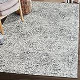 ReaLife Alfombra Lavable a Maquina - Fabricada con Fibras recicladas Mosaic Tile Gray, 90 x 150 cm