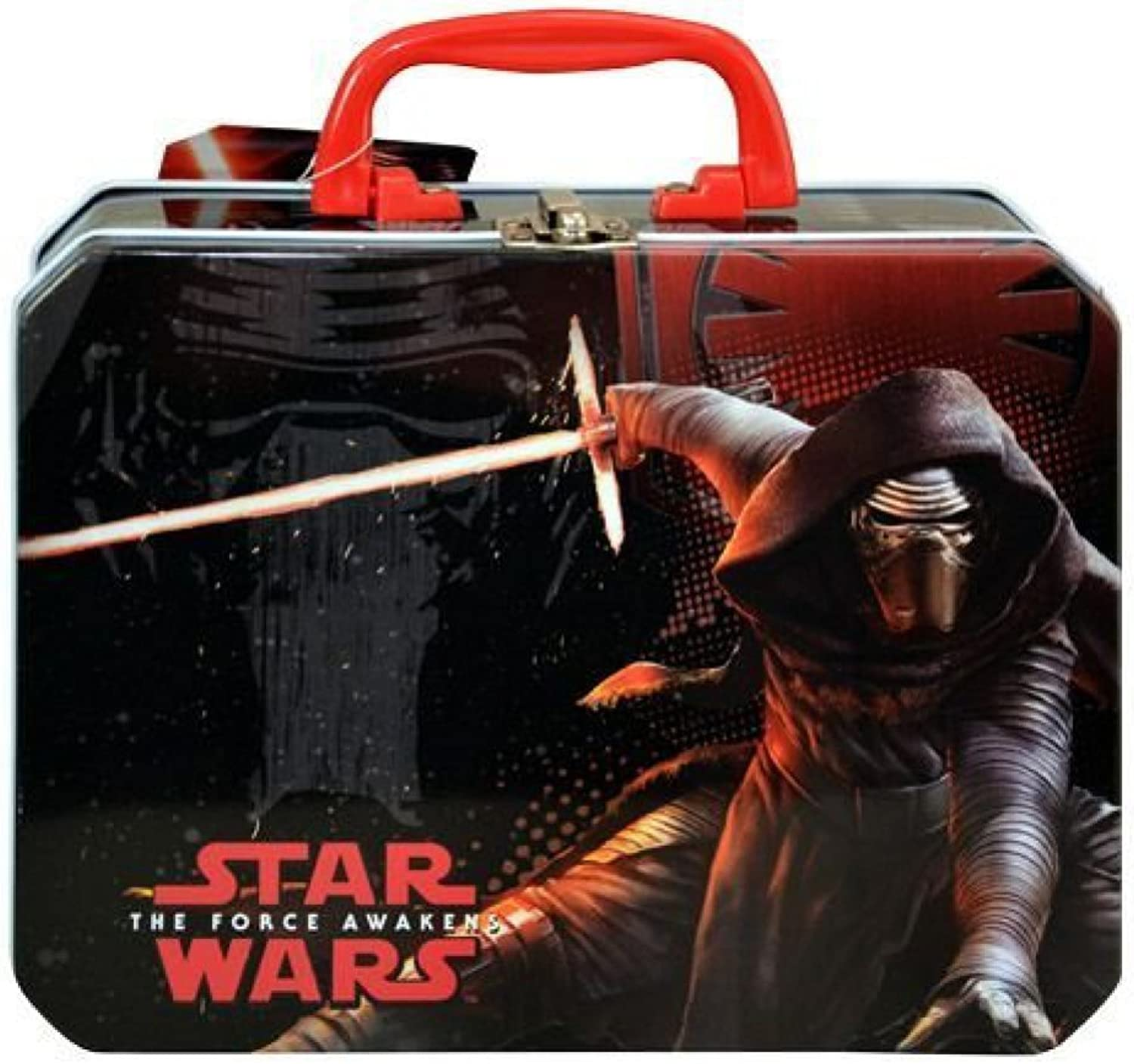 Star Wars Ep7 Deluxe Rectangle Tin Box [Contains 1 Manufacturer Retail Unit(s) Per Amazon Combined Package Sales Unit]  SKU  SWDEL